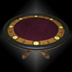 Build Your Eight Position Custom Poker Table