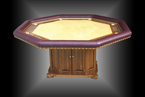Rick's Custom Built Poker Table