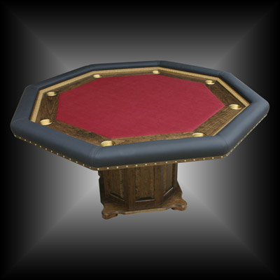 Johnu0027s Custom Built Poker Table