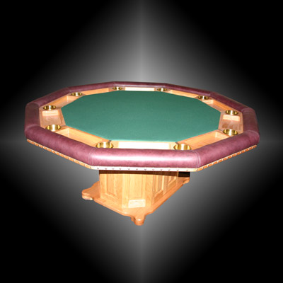 Andrew's Custom Built Decagon Poker Table