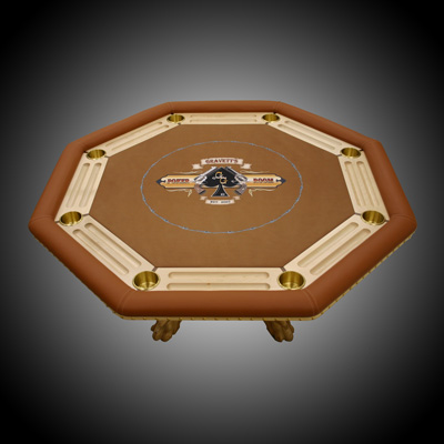 Ann's Custom Built Poker Table