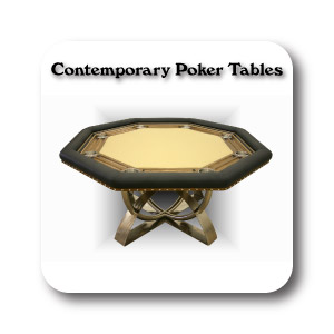 Contemporary Poker Tables