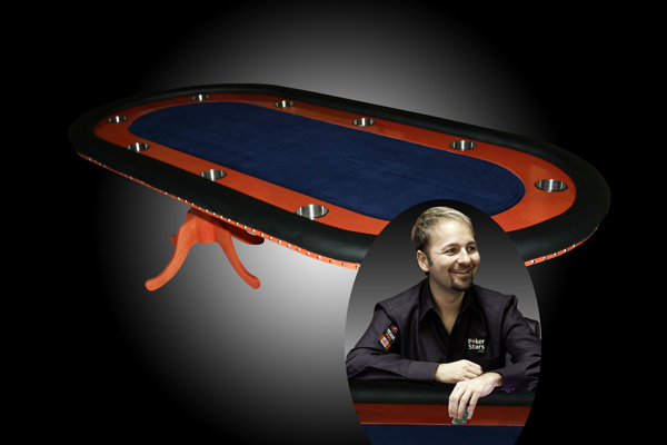 Daniel Negreanu's Custom Poker Table
