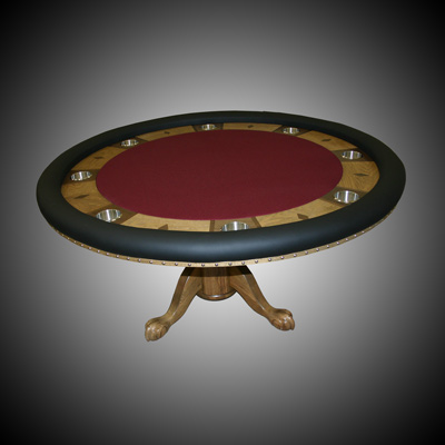 Eli's Custom Built Poker Table