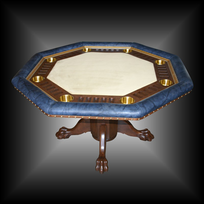Jane's Custom Built Poker Table
