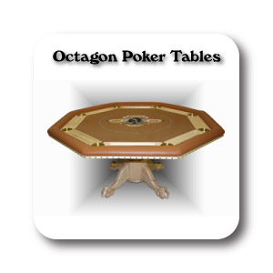 Custom Octagon Poker Table