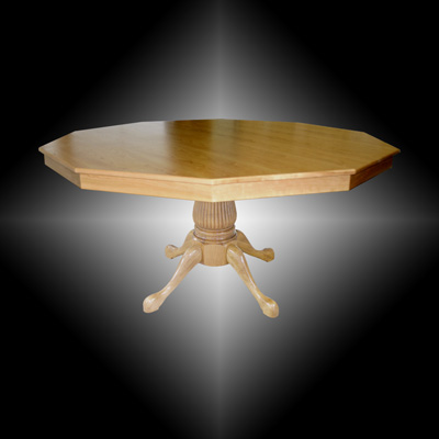 Custom poker tables by regal poker tables for Fluted pedestal base