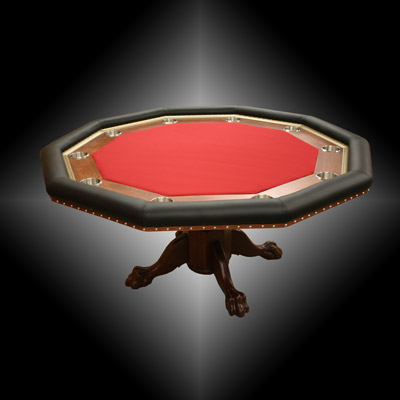 Todd's Custom Built Decagon Poker Table