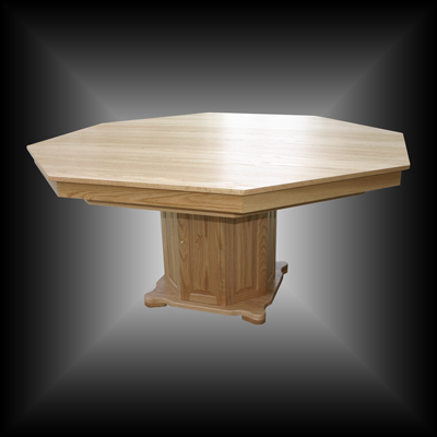Octagon Oak  Formal Dining Top