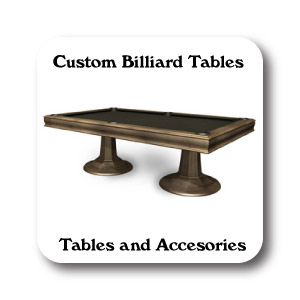 Pool Tables, Cue Racks, Billiard Accesories