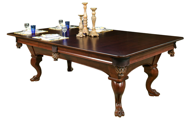 Due to the many selections available to customize these billiard table