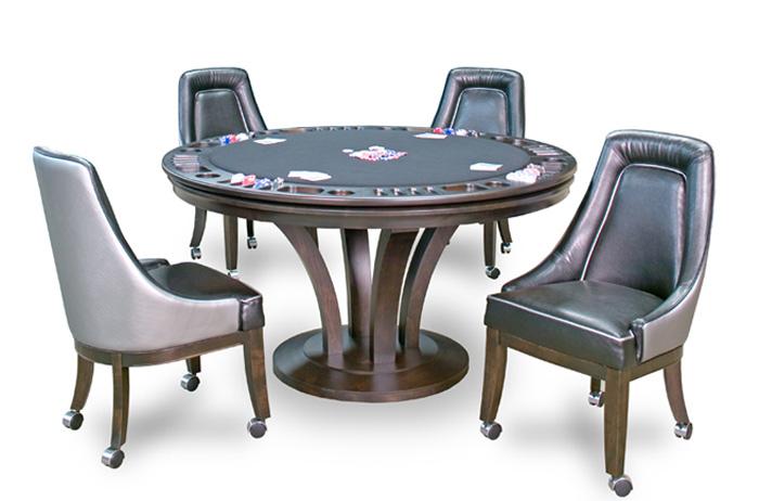 Merveilleux Venice Custom Poker Table By California House