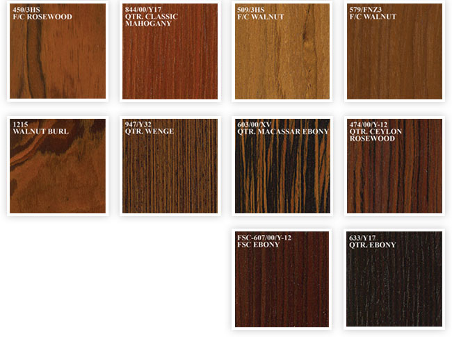 Wood Veneer Finishes